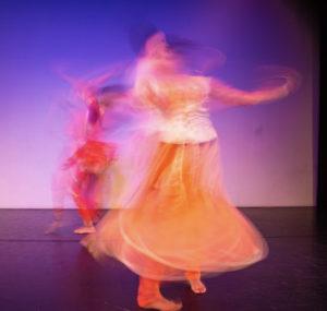 artwallah 2018 tech rehearsal highways performance space dancers Richa Shukla and Shalini Bathina