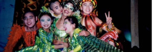 Cirque du Soleil Dralion with the kids